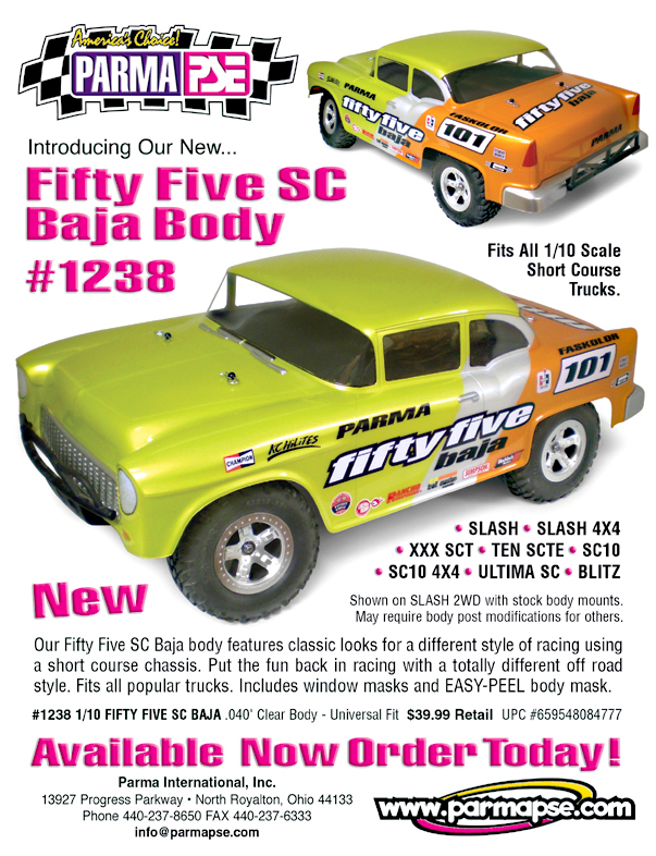 FIFTY FIVE SC BAJA BODY 1238Sell
